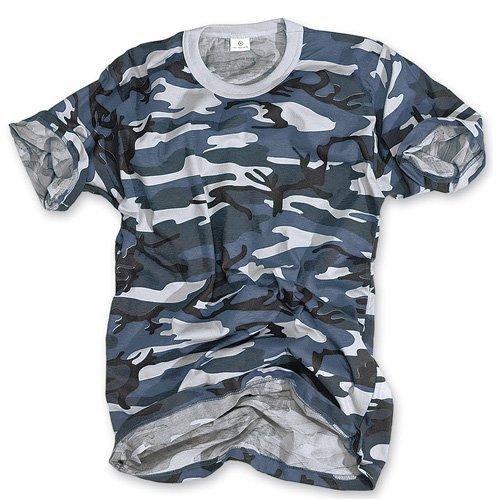 SURPLUS Mens T-Shirt Basic Blautarn