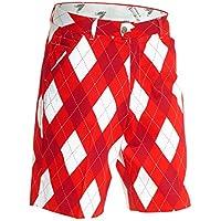 """Royal & Awesome–Pantalones cortos de golf Pantalones Cortos, todo el año, hombre, color Diamond Geezer, tamaño 30"""" Waist - 76 cm"""