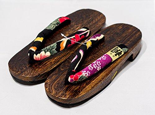 japon-made-geta-paulownia-bois-sandals-traditionnel-chaussures-sakura-black-taille-l