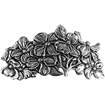 Oberon Design Dogwood Hair Clip | Hand Crafted Metal Barrette With Imported French Clips …