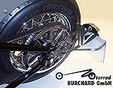 Seitlicher Kennzeichenhalter Yamaha XV 1600 Wild Star mit TÜV Teilegutachten