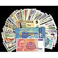 Collection House Foreign Banknotes (Set of 50)
