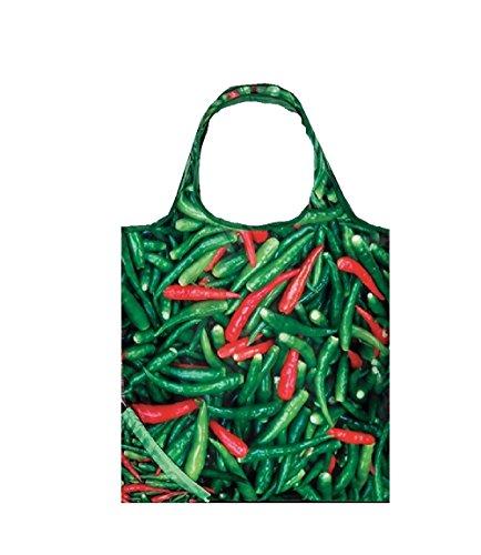 Einkaufstasche ,Tasche , Shopper - Gemüse verschiedene Motive (Chilli) Chilli Collection