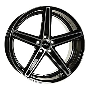 OXIGIN 18 Concave black full polish 8,5x19 ET45 5.00x112.00 Hub Bore 66.60 mm - Alu felgen