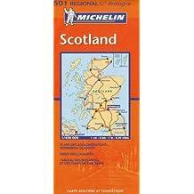 Carte RGIONAL Scotland