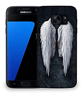 Snoogg Broken Angel Wings Designer Protective Phone Back Case Cover For Samsung Galaxy S7