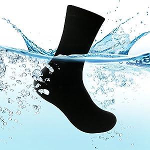 Waterfly Unisex wasserdichte Socken für Damen und Herren Ultraleichte Atmungsaktive Sport Klettern Trekking Wandern…