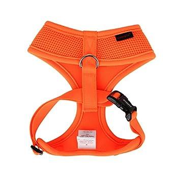 Puppia Soft Harnais A Fluo, XL, Orange
