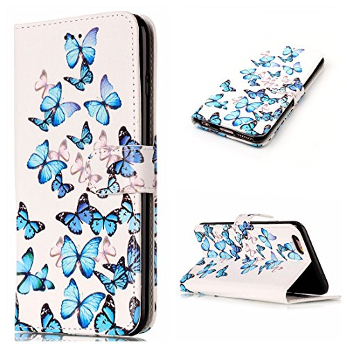 Yaking® Apple iPhone 6/6S PU Portefeuille Étui Coque Stand Flip Housse Couvrir impression Case Cover P-7