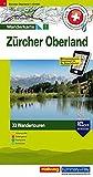 Zürich Oberland: Nr. 1, Tourenwanderkarte mit 33 Wandertouren, 1:50 000, mit kostenlosem Download für Smartphone Karten, Tourenführer, Fotos, ... ... Autobus (Hallwag Touren-Wanderkarten)