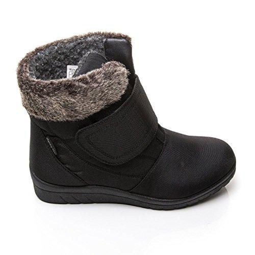 Cushion Walk thermo-tex Womens Comfort stivali invernali-CW81Nero, nero (Black), 40