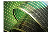 Photovoltaik Modul | Grün | Transparent | Solarfolie | OPV PV Solar | Organic Photovoltaic