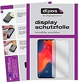dipos I 6X Schutzfolie klar passend für Xiaomi Mi 9 SE Folie Displayschutzfolie (3X Vorderseite + 3X Rückseite)
