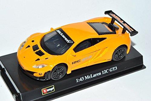 McLaren MP4-12C GT3 Orange 2011-2014 1/43 Bburago Modell gebraucht kaufen  Wird an jeden Ort in Deutschland