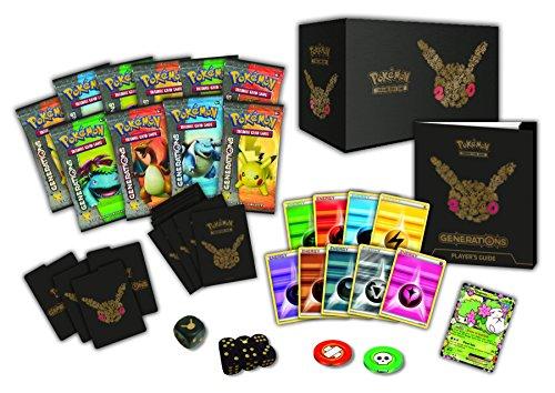 Pokemon Elite-Trainer-Box von der Generations-Erweiterung, für das Pokemon-Sammelkartenspiel