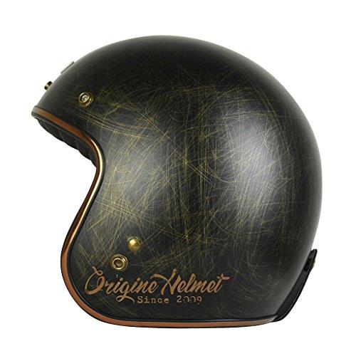 Origine - Primo Scacco - Casco de moto jet Cafè Racer M Bronze Matt