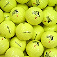 Links Choice - Lote de 12 pelotas de golf (de colores, recuperadas) amarillo amarillo