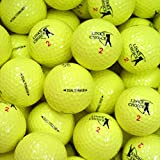 Lot de 12 Balles de Golf - Jaune