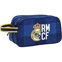 Real Madrid 11724 Bolsa de Aseo, 26 cm, Azul