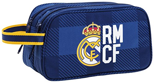 Real Madrid – Neceser 2 Cremalleras Adaptable a Carro (SAFTA 811724518)