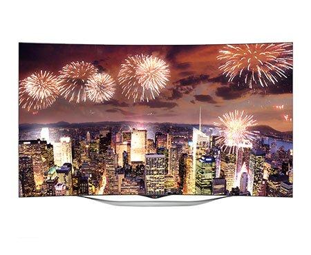 LG 55EC930T 139 cm (55 inches) Full HD Curved Smart 3D LED TV (Black)