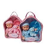 Hamleys Calinou Backpack Doll, Purple/Pi...
