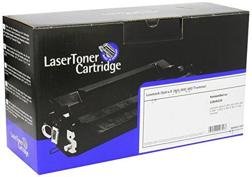 LDZ 1214 compatibile per Lexmark E260, Photoconductor Kit E260 x 22 g, 30,000 pagine, colore: nero
