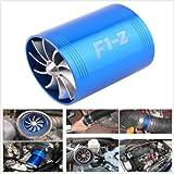 Ventola a doppia elica F1-Z, per lato di aspirazione dell'aria, per risparmiare carburante (compressore volumetrico)