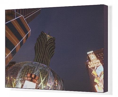 canvas-print-of-lights-of-grand-lisboa-casino-and-bank-of-china-building-macau-china-asia