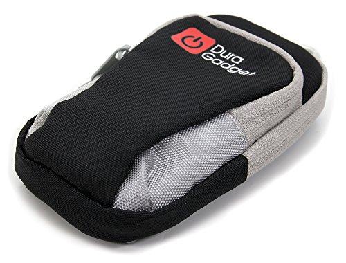 DURAGADGET Outdoor Mini-Tasche als Fitness-Armband für Tiptel Ergophone 6120 | 6121 | 6180 | 6181 | 6220 | 6210 | 6222 | 6230 | 6232 Klapphandys
