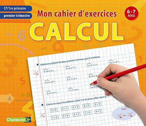 Mon cahier d'exercices calcul (6-7 a.) Premier trimestre por ZNU