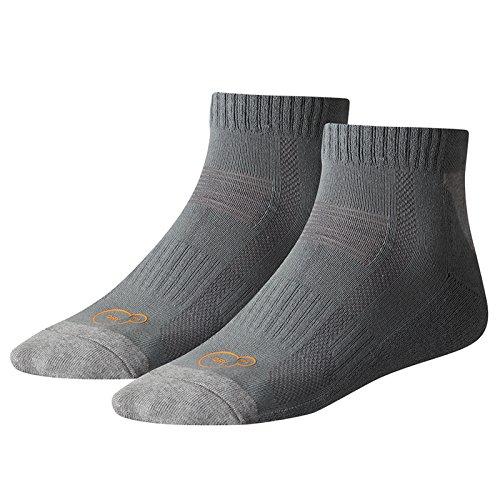 Puma Sports Socks Unisex Cell Multi-Sport Medium Quarter (2 Pair Pack)