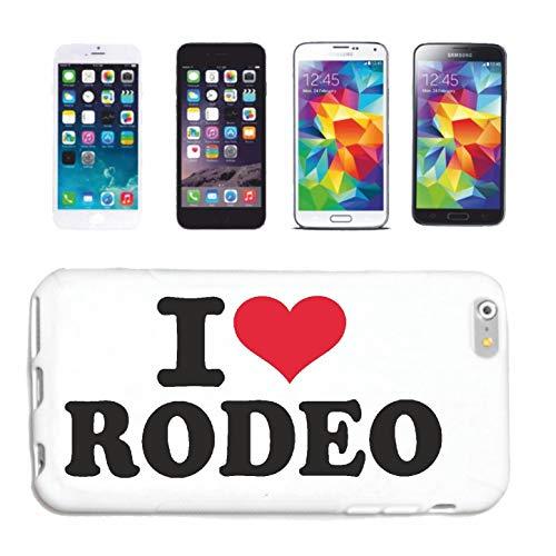 Helene Handyhülle Samsung Galaxy S3 i9300 I Love Rodeo - Cowboy - Rodeo REITEN - Pferd - Pferdesport Hardcase Schutzhülle Handycover Smart Cover für Samsung Galaxy S3 i9300