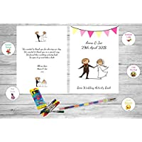 Personalised Childrens Kids Wedding Activity Pack Book Favour Cute AB2