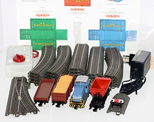 Märklin H0 94426 Startpackung Bauzug mit Digitaler Diesellok DHG 500, 3 Güterwagen Neu