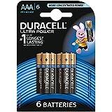 Duracell - Pile Alcaline Ultra Power - AAA - 6 Piles
