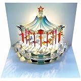 Carte d'anniversaire Pop-Up–Carrousel
