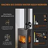 CHAOBEITE Ventilator für Holzöfen Kaminöfen - 3