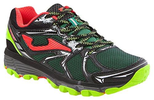 JOMA Shock, Zapatillas de Running para Asfalto para Hombre, Verde (Gre