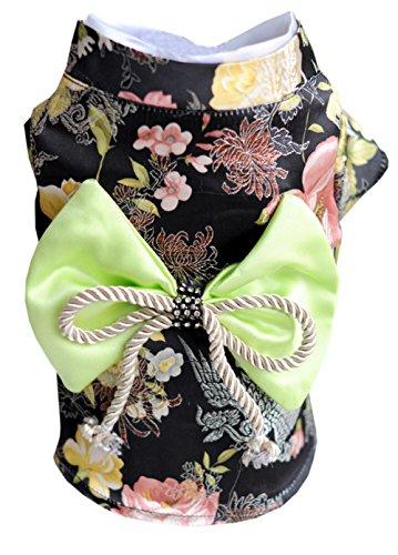 EOZY Vestido Perro Ropa Mascotas Estilo Kimono Con