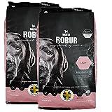 Bozita 2 x 12 kg Robur Light Hundefutter weizenfrei fettreduziert sensible Hunde