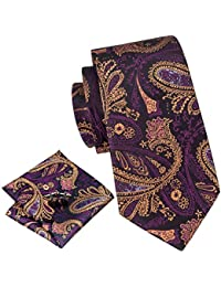 Herren-accessoires Billiger Preis Navy Blue Textured Classic Mens Tie And Pocket Square Set Regular Tie Normal Tie Kleidung & Accessoires