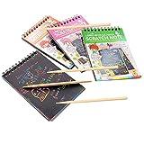 Libro de colorear de Graffiti de libro de colorear de Graffiti de 4pcs para los adultos: Libro de colorear de arte Graffiti un guide de estudiantes con el manual de la Enseignant