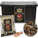 Texas Thunder BBQ - natürliches Grill Gewürz | Steak und Grillgewürzsalz im 500 Gramm Vorteils-Eimer *limited Black-Edition*
