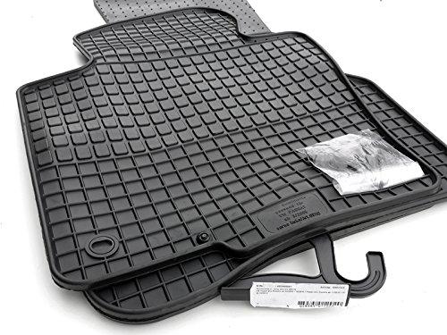 Preisvergleich Produktbild Gummi Fußmatten VW Passat B6 B7 3C CC Original Qualität Auto Gummimatten Tuning 4-teilig schwarz