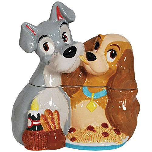 DISNEY's LADY AND THE TRAMP COOKIE JAR