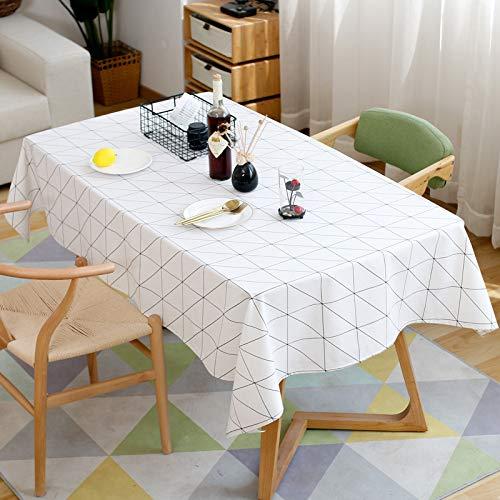 TWTIQ Cuadrados Modernos Cuadros Blanco Negro Impermeable