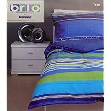 Bassetti - 2 juegos de cama (135/140 x 200, 100% algodón), algodón, TEON, 135/140 x 200