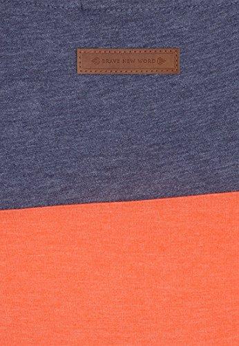 Naketano Female Shortsleeve Herbert XI Bluegrey Melange