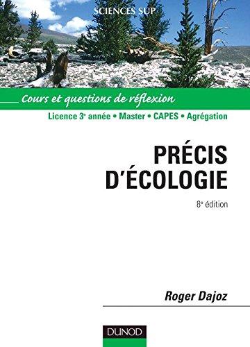 Précis d'écologie par Roger Dajoz